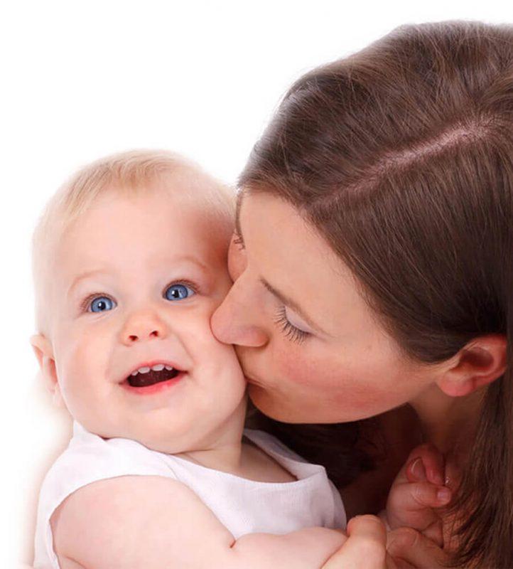 תמונה אמא ותינוק